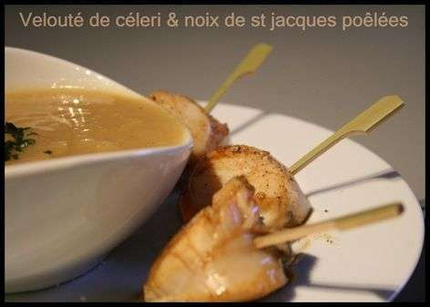 Velout de legumes de saison au curry noix de saint jacques poelees recette ptitchef - Saint jacques au curry ...
