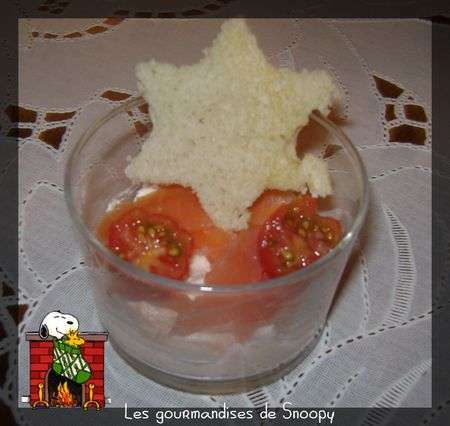 Verrine festive la mousse de saumon recette ptitchef for Entrees festives faciles