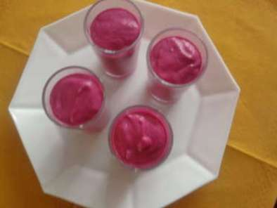 Verrine mousse de betteraves, Photo 3