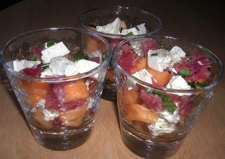 Verrines Toutes Fraiches Au Melon Recette Ptitchef