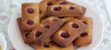 Financiers aux framboises