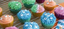Cupcakes monstres