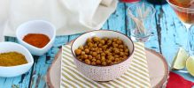 Pois chiches au curry